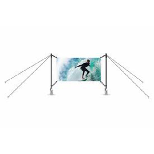 Outdoor banner system – H-Fix