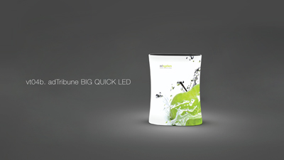Adtribune quick BIG LED