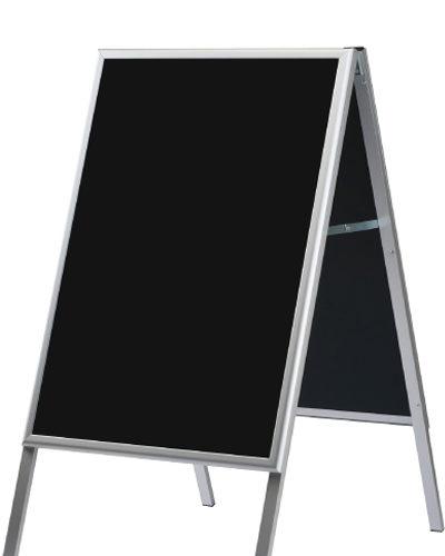 A-skilt med sort tavle 60x80cm