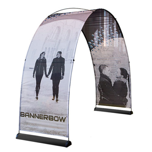 Bannerbow Event Arch Indoor